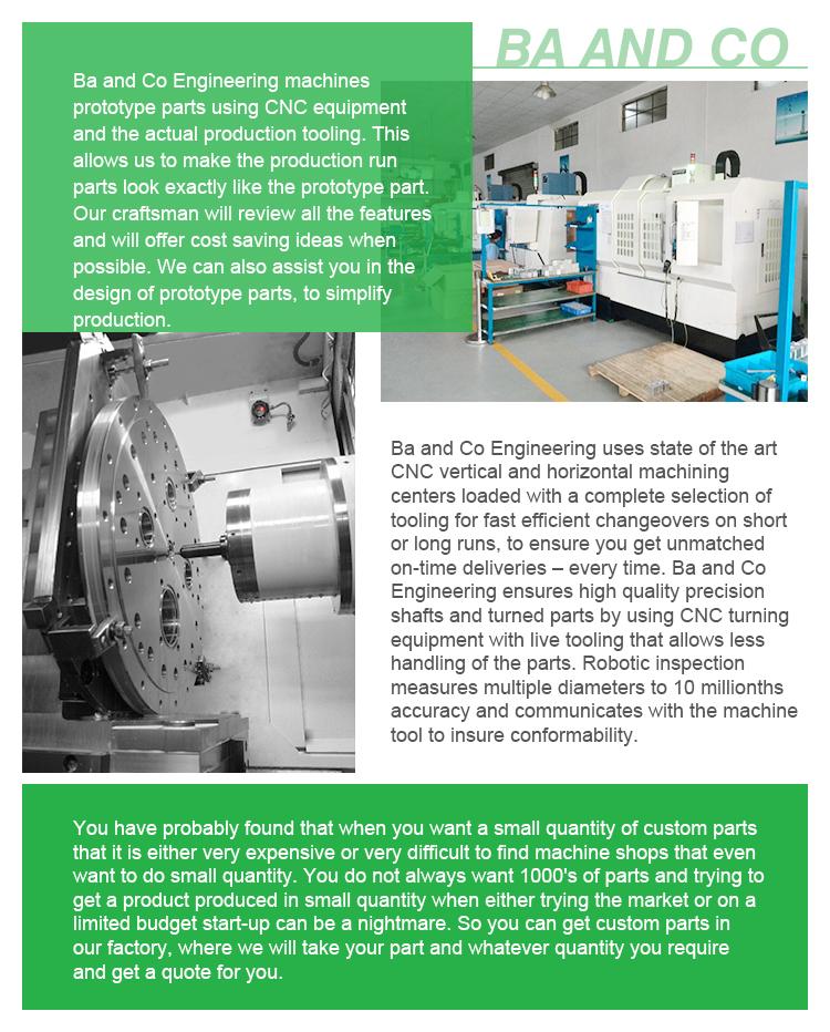 China Supplier Custom Made Cheap Cnc Machining Aluminum Spacer ...