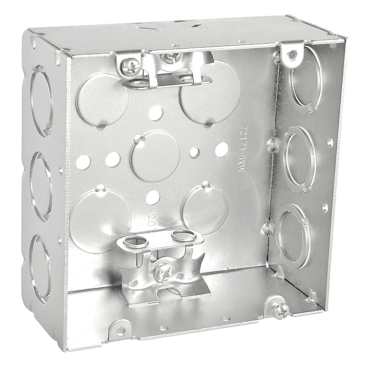 Electric Switch Outlet Box Steel Box For Electrical Wire - Buy ...