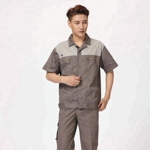 wholesale unisex workwear short sleeve clothing suits