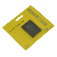 32MB Memory Card Game Data Save Storage Module for Sony PS2 PlayStation 2 & Slim Line Version Game Accessories Card