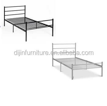 low priced 0b301 031ee Bedroom Furniture Iron Bed Single Bed Frame One Person Bed - Buy Cheap Iron  Beds,Cheap Single Bed,Wrought Iron Furniture Beds Product on Alibaba.com