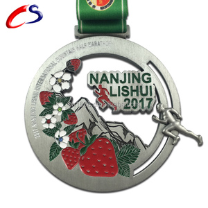 sport medal award metal /custom gold silver antique brass running medal