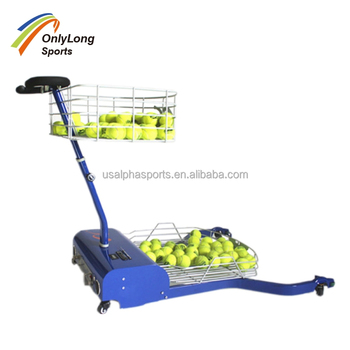 Tennisbal Picking Machine met automatische bal picking