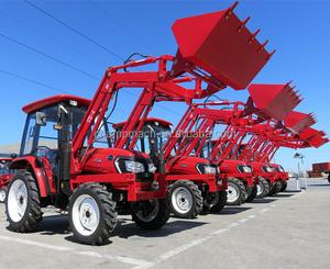 Hot mini farm tractor front end loader attachment mulcher