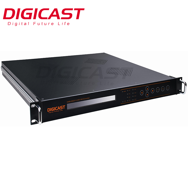 (DMB-8900) 4 stereo o 8 Mono Audio di Codifica, LC-AAC, HE-AAC (v2) closed Caption AC3 MPEG2 H264 MPEG4 HD MI SDI Encoder