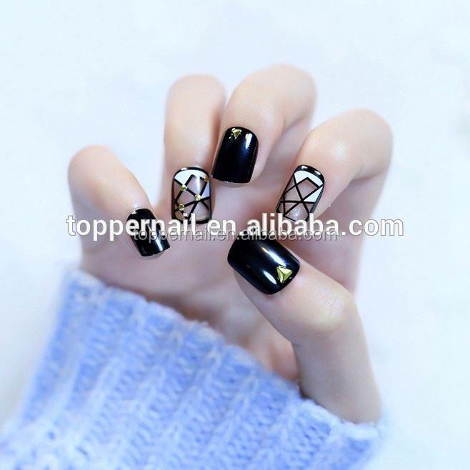 Korea New Design Nail Tips Promotional False Tips Buy Nail Tips