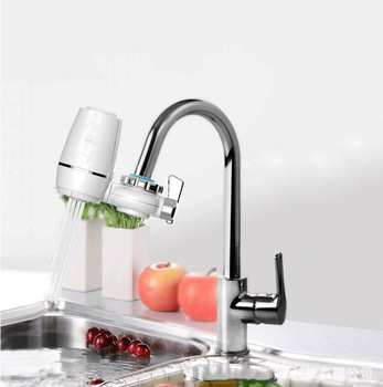 Evkon Easy Stall Purifier Home Faucet-Mounted Active Carbon Filter Replacement Tap Water Filter