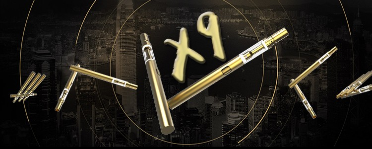 Disposable Vaporizer Vape Pen for Oil X9