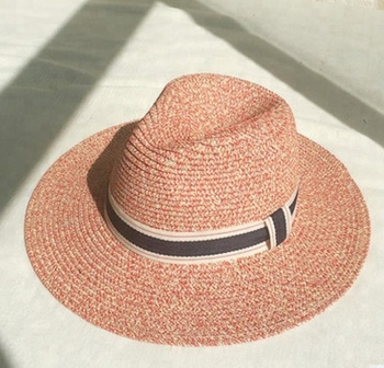 24190411d5f Custom Logos Ribbon Rope Straw Sunshade Led Fedora Hat - Buy ...