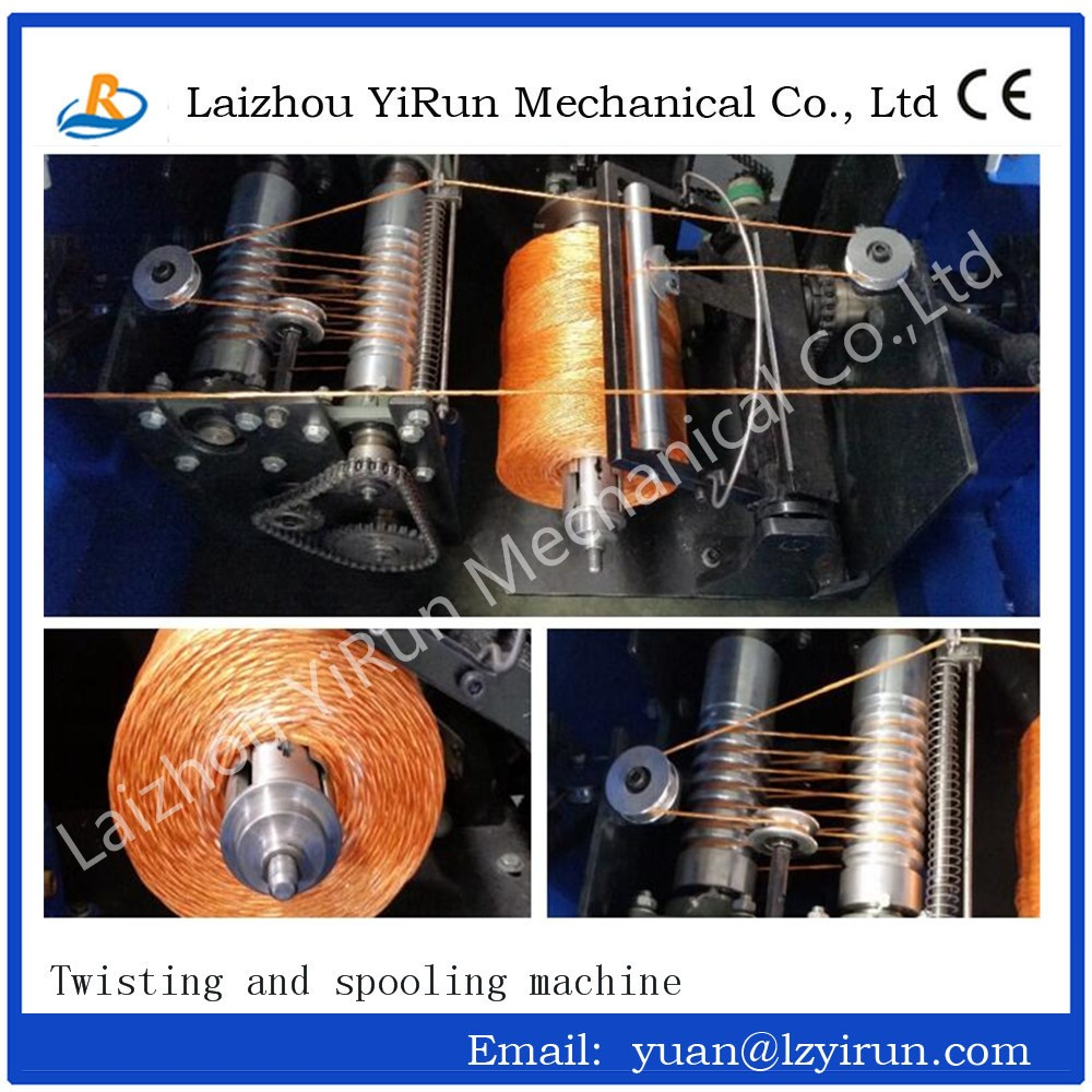 high quality rope twisting machine