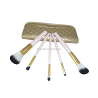 cheap wholesale new makeup brushes set with leather bag