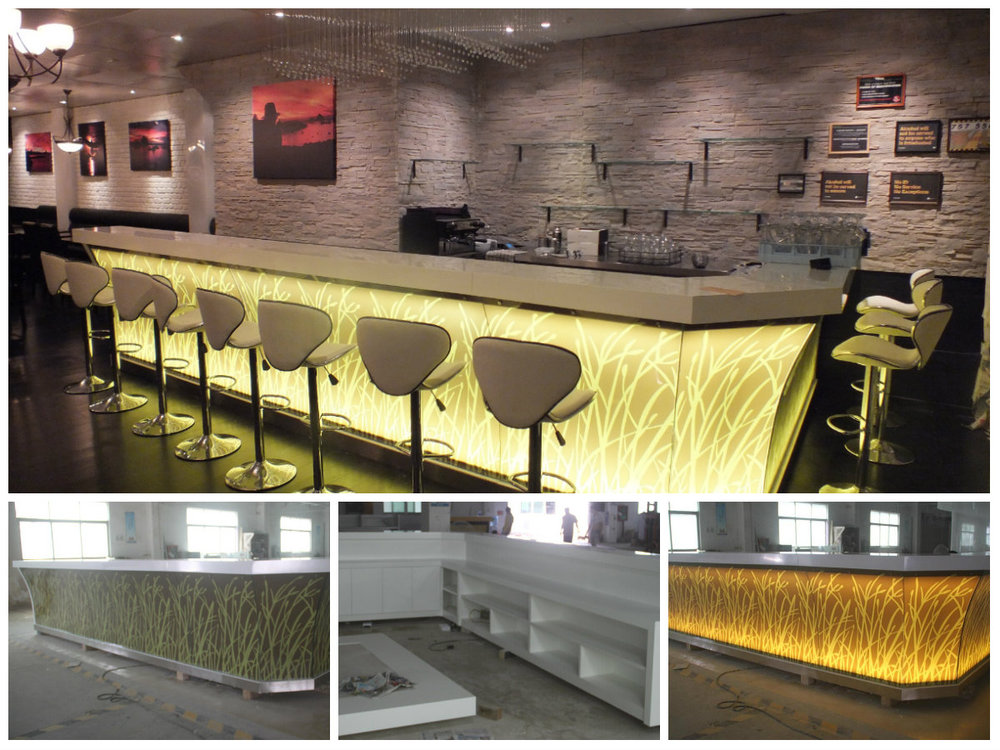 Unique Bar Furniture. Tw Modern Artificial Stone Restaurant Counter Table ,  Unique Bar Furniture P