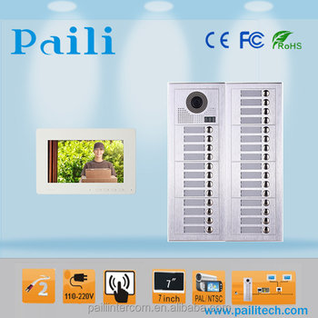 Multi Apartments Video Intercom Door Phone System For 2 28 Ethernet