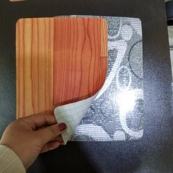 Black And White Vinyl Floor Vinyl Flooring Roll Cheap Linoleum