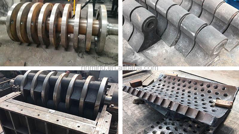 Низкая цена Шредер для металла алюминиевый Олово Может Дробилка для завода по переработке