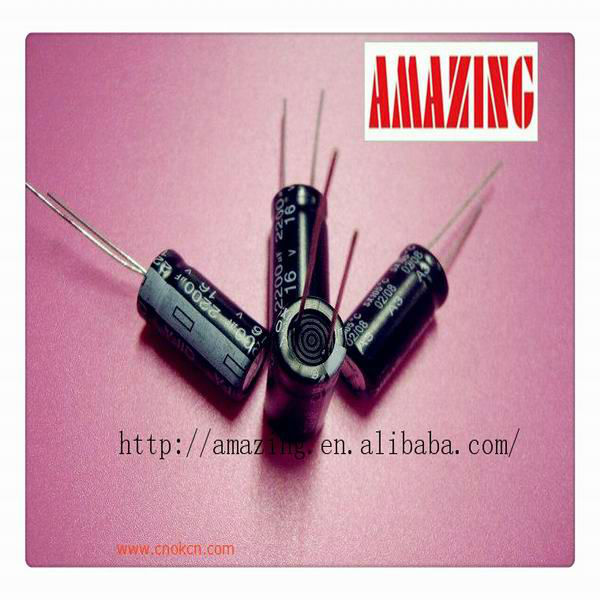 Axial Lead capacitor High Current 6.3v 100uf