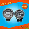 Alibaba trade assurance Spot beam C ree 60w led work lights, led offroad light bar for cherolet spark parts