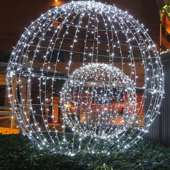 top sale light up large outdoor christmas balls for party - Large Outdoor Christmas Balls