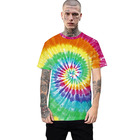 wholesale custom unbranded oversize mens tie dye t shirts