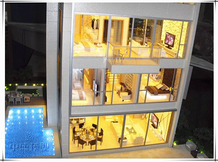 House Interior Design Model Prefab House Model Miniature