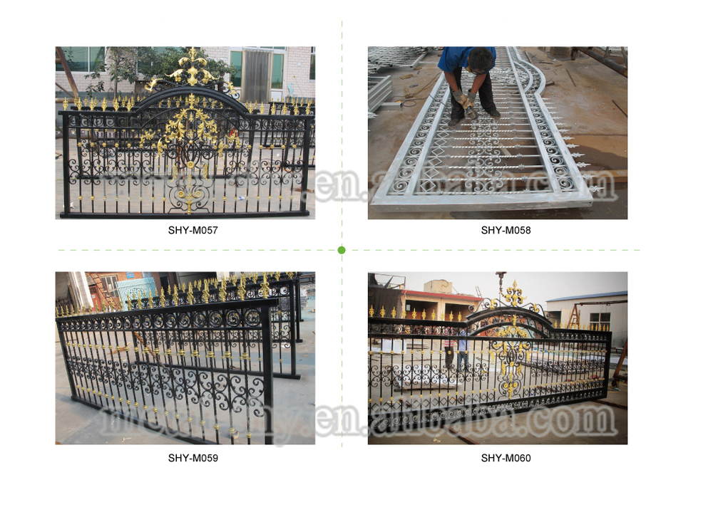 Cancello Di Legno Usato : Moderni utilizzati in ferro battuto utilizzati cancello scorrevole