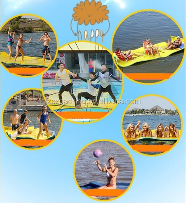 wholesale high quality floating water mat