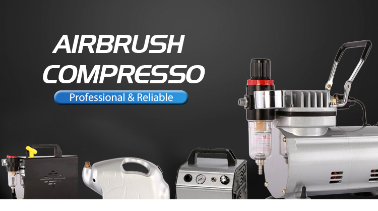 AC-110 Groothandel hoge kwaliteit hot selling nuttig diy air toevoegen van een tank voor airbrush compressor
