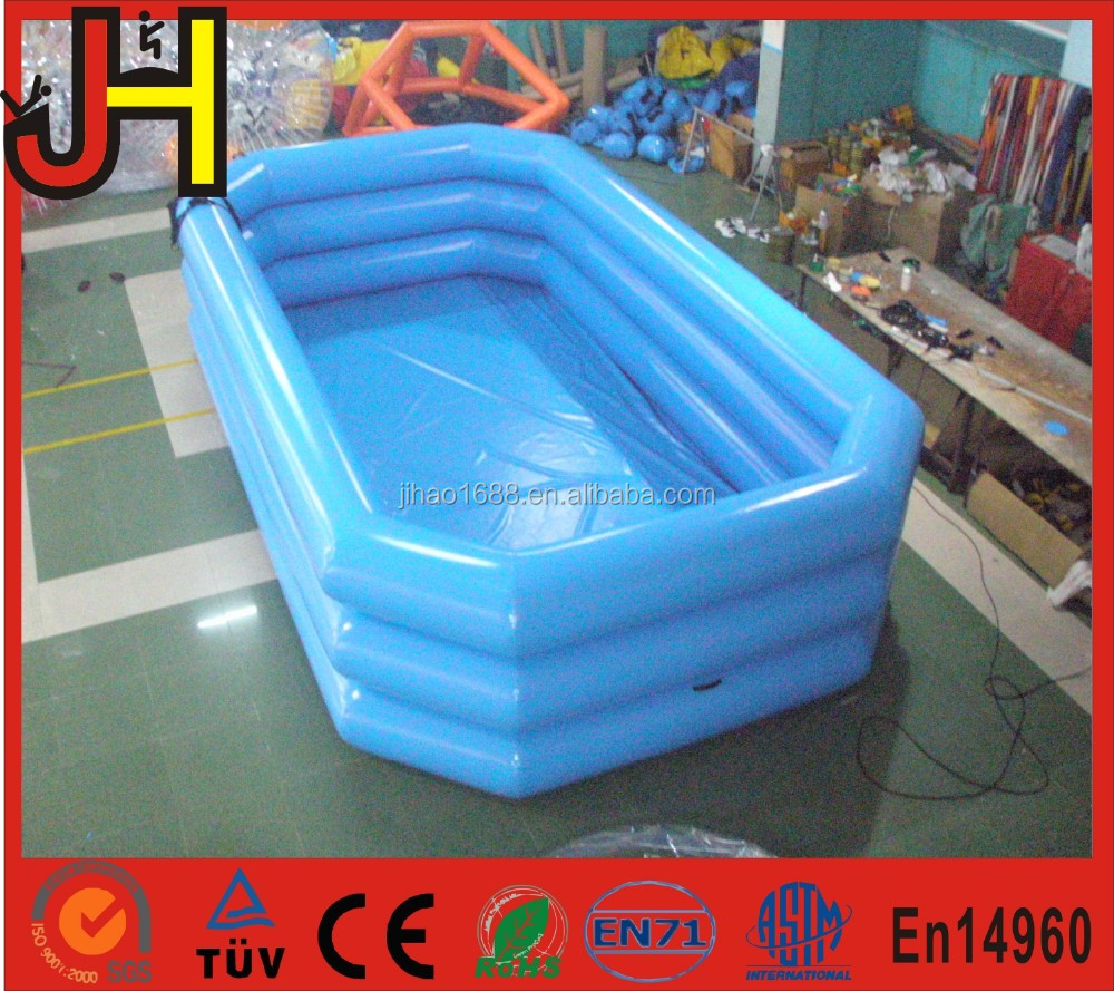 Draagbare opblaasbare zwembad kinderen kids plastic for Zwembad plastic