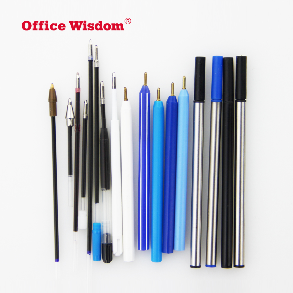 promotional metal short ballpoint pen refill for ball pen refill
