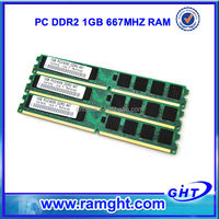 Main ram manufacturers ETT chips 1gb pc2 5300 ddr2 sdram