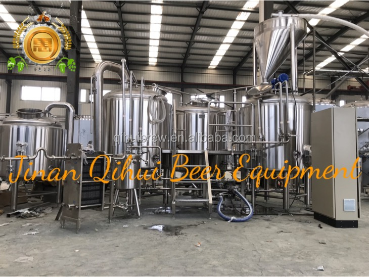 1200L beer brewing machines used brewery for sale