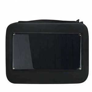 New Solar-powered Charging Storage Bag Case for GoPro Hero 7 6 5 4 3+ 3 4 Camera Smartphone