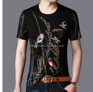 printed t shirt man t- shirt cotton