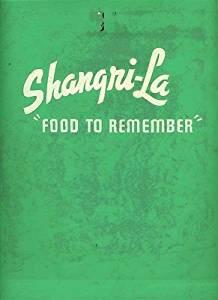 Shangri La Restaurant Menu Pico Rivera California 1960's
