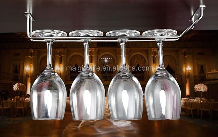 european design bar novelty wine glass hanging rack buy. Black Bedroom Furniture Sets. Home Design Ideas
