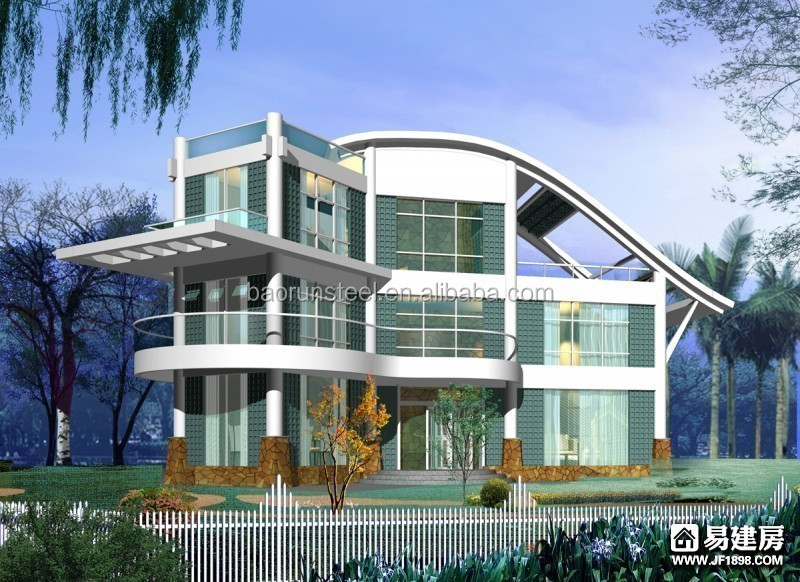 Low Cost Light Steel framing House Designs for Sale in Nepal