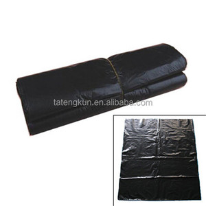 High quality trash bag o over 16 years professional factory PE Black Plastic Garbage Bag on roll