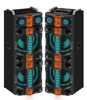 Popular 2.0 active professional concert stage speaker with pa system,colorful ball light