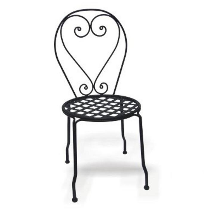 Wrought Iron Chairs Cast Table