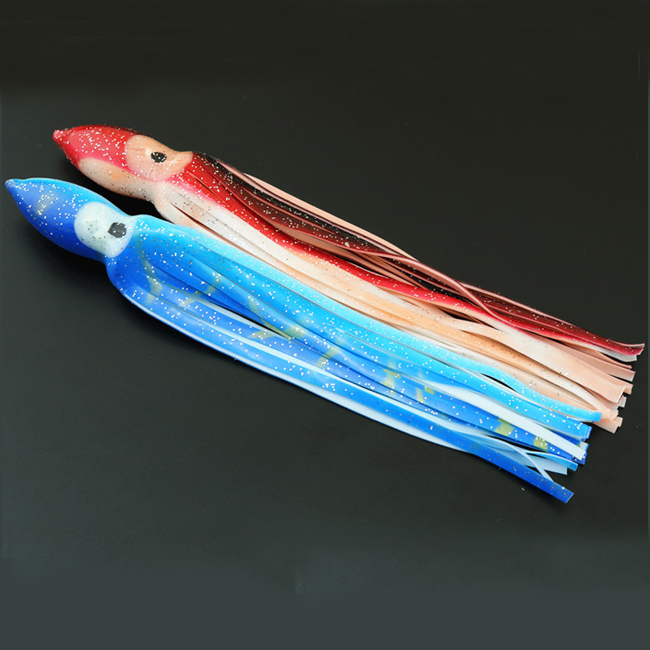 Octopus squid skirts offshore fishing trolling soft lures