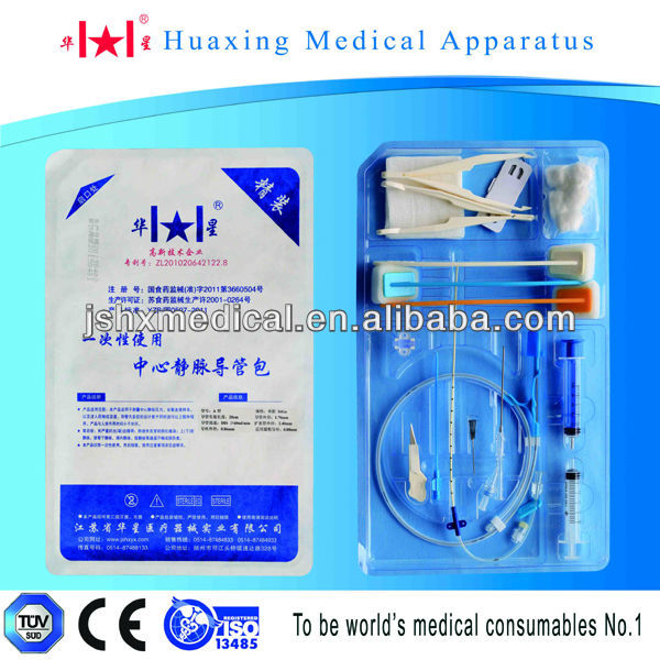 Disposable Central Venous catheter Kit (full sets)