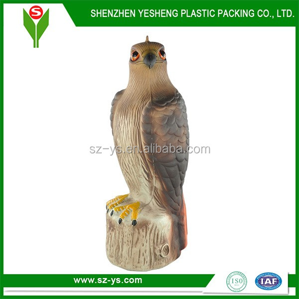 Plastic Hawk Decoy For Hawk Bird Scarer