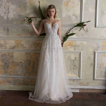 f256895bac Aswy18 Spaghetti Strap Lace Bridal Bohemian Wedding Bride Gown With Slit  Cross Back Wedding Dress - Buy Bohemian Wedding Dress,Wedding  Dress,Bohemian ...