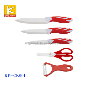 5pcs kitchen ceramic knife set scissors /peeler