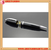 Custom Gift Box Novelty and Metal Material Ballpoint Flash USB Pen