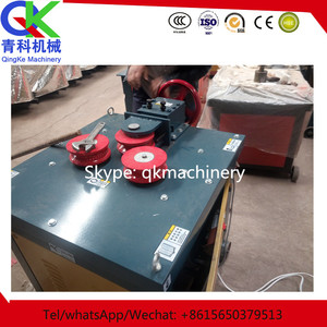 rolled steel rod bender can bend radian made in Qingke machinery