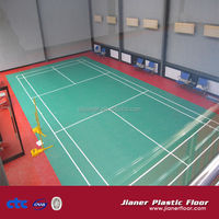 muti-purpose pvc floor roll for badminton