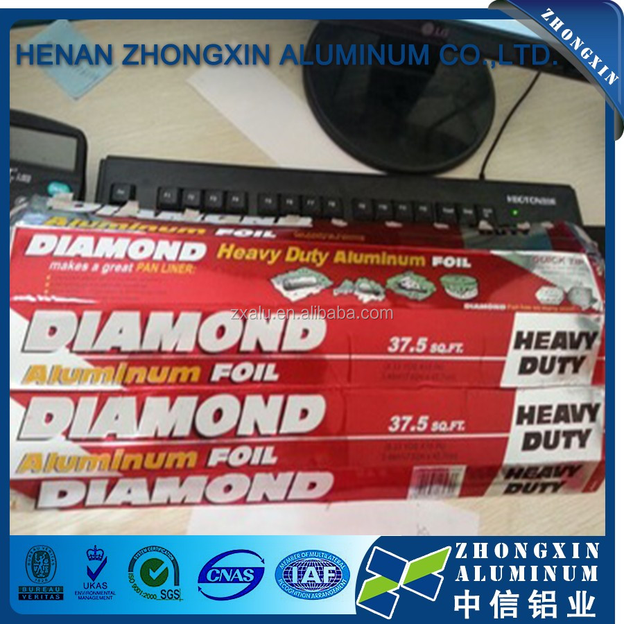 Diamond brand 8011 1235 3003 aluminum foil with competitive price
