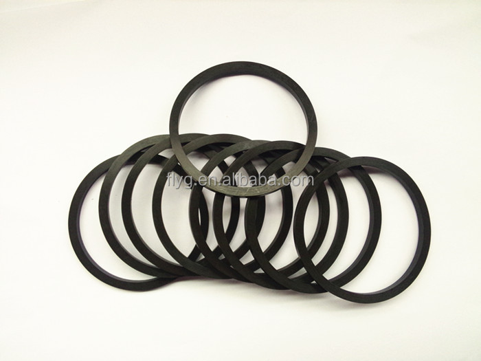 Epdm Quad Ring,Viton Flat Rubber O Ring,Flat Silicone Rubber O Ring ...