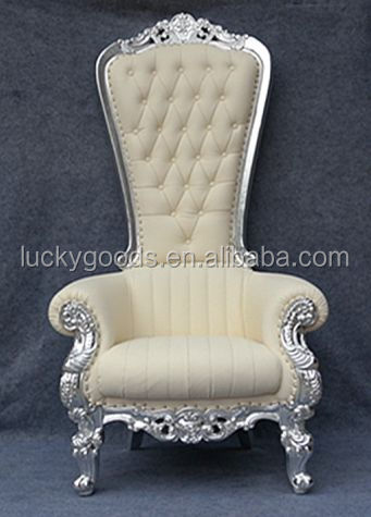LYZ022 cream white fashionable wedding event bride and groom sofa chair